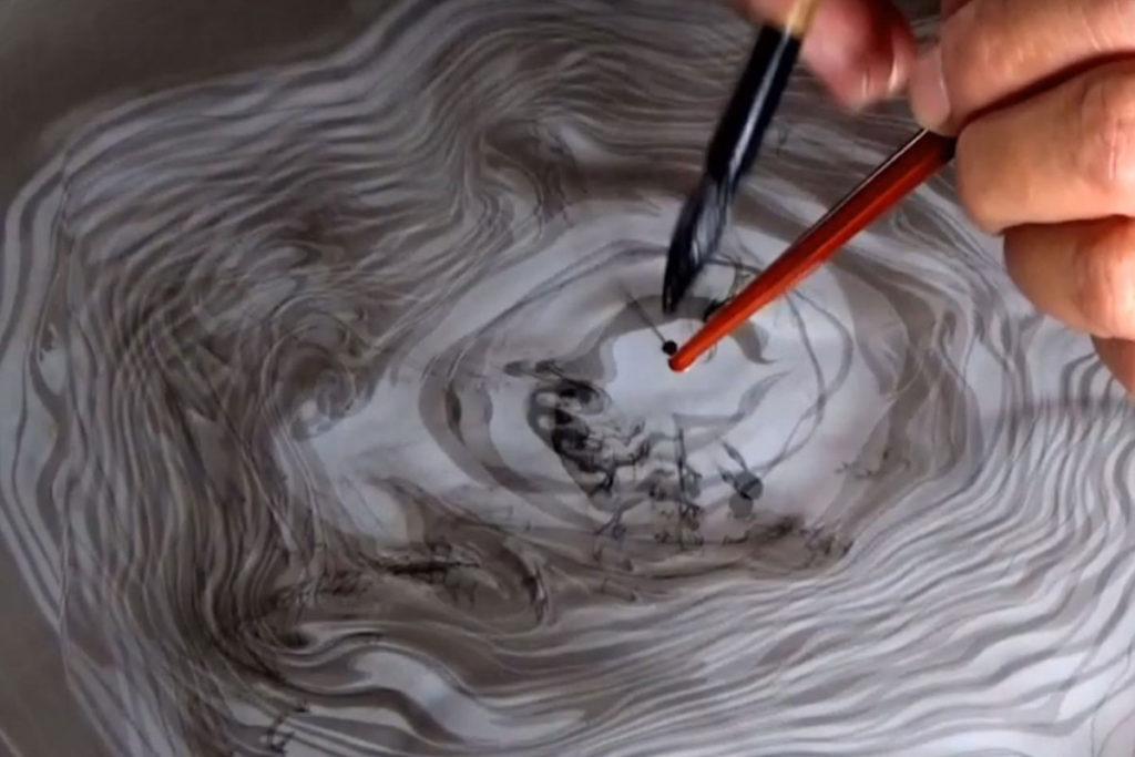 Ink sinking